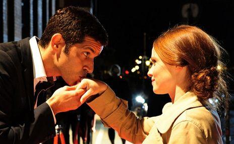 """Jennifer Ulrich & Pasquale Aleardi in """"Herzt�ne"""""""