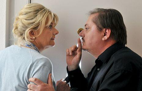 """Saskia Vester & J�rgen Tarrach in """"Ein starkes Team: Prager Fr�hling"""""""