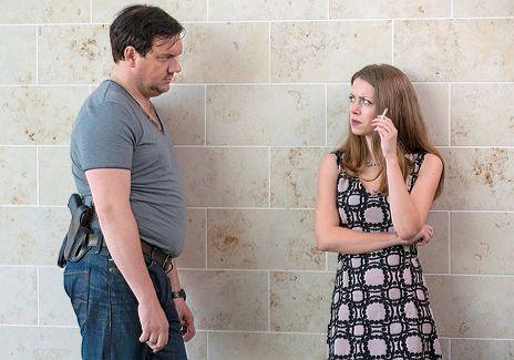 """Charly H�bner & Alice Dwyer in """"Polizeiruf 110 - Zwischen den Welten"""""""