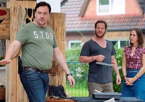 """H�bner, Manthei & Sarnau in """"Polizeiruf 110 - Zwischen den Welten"""""""