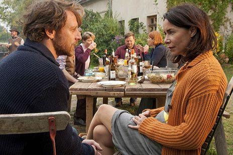 """Katharina M�ller-Elmau & Hendrik Duryn in """"Mein Lover, sein Vater und ich"""""""