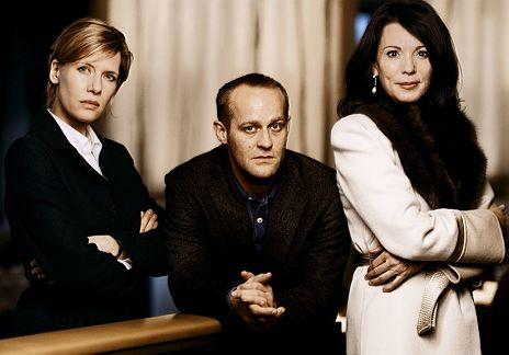 """Ina Weisse, J�rgen Vogel & Iris Berben in """"Duell in der Nacht"""""""