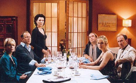 """N�gele, Milberg, Berben, Bodenbender, Noethen, Schneeberger in """"Silberhochzeit"""""""