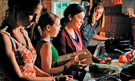 Frauen in der K�che - sprachlos